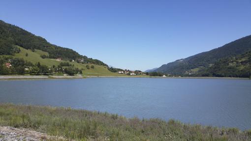 Le bassin EDF du Flumet, à Allevard © AAPPMA Allevard